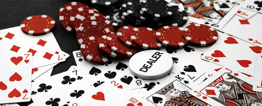 poker dans un casino